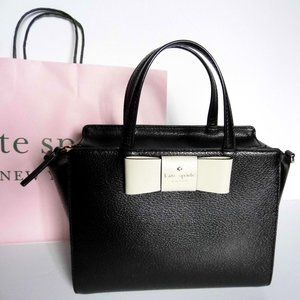 KATE SPADE Bag Genuine Leather w/ bow Purse